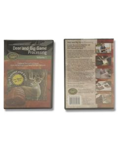 Outdoor Edge DVD - Deer and Big Game Processing, Vol. 1