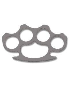 Flat Edge Knuckle Belt Buckle with Gun Metal Finish