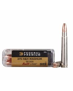 Federal Premium Cape-Shok 375 H&H Magnum 300 Grain Swift-A-Frame 20 Rounds