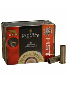 Federal Premium Personal Defense 38 Special +P 129 Grain Hydra-Shok Jacketed Hollow Point 20 Rounds