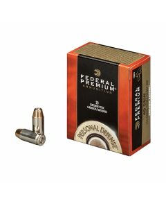 Federal Premium Personal Defense 40 Smith & Wesson 155 Grain Hydra-Shok Jacketed Hollow Point 20 Rounds