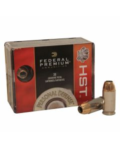 Federal Premium Personal Defense 9mm 124 Grain HST Jacketed Hollow Point 20 Rounds
