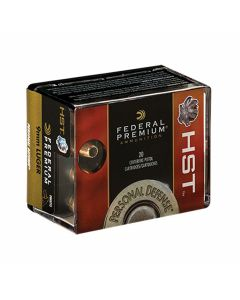 Federal Premium Personal Defense 9mm 147 Grain HST Jacketed Hollow Point 20 Rounds