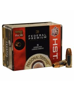 Federal Premium Personal Defense 9mm 150 Grain Jacketed Hollow Point 20 Rounds