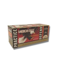 Federal American Eagle 9mm 124 Grain Full Metal Jacket & HST 120 Rounds