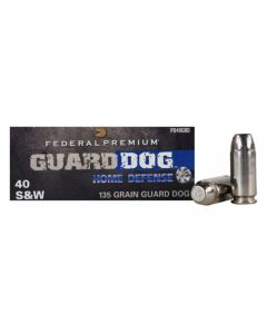Federal Guard Dog 40 S&W 135 Grain 135 Grain Full Metal Jacket 20 Rounds