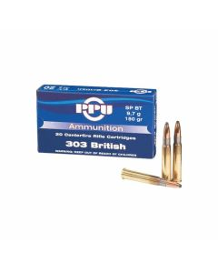 PPU 303 British 150 Grain Jacketed Soft Point 20 Rounds