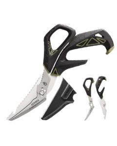 Gerber Processor Take-A-Part Shears with Hydrotread Rubberized Handle and Stainless Steel Blades Model 31-003276