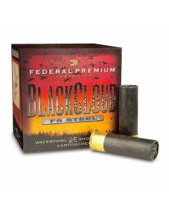 "Federal Premium Black Cloud 12 Gauge 3"" 1-1/4oz #2 Steel Shot 25 Rounds"