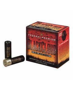 "Federal Premium Black Cloud 12 Gauge 3"" 1-1/4oz BBB Steel Shot 25 Rounds"