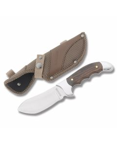 Rough Rider Heavy Hunter Series Skinner 440A Blade Polished Wood Handles