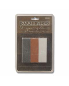Rough Rider Sharpening Stone Set Model RR3000
