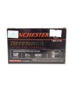 "Winchester PDXI Defender 12 Gauge 2.75"" 1 oz Segmenting Slug 10 Rounds"