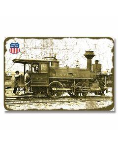 Union Pacific Locomotive Tin Sign