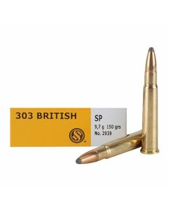 Sellier & Bellot 303 British 150 Grain Jacketed Soft Point 20 Rounds