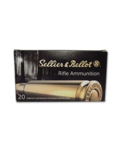 Sellier & Bellot 308 Winchester 147 Grain Full Metal Jacket 20 Rounds