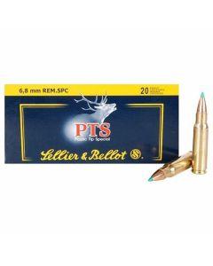 Sellier & Bellot 6.8mm Remington SPC  110 Grain Polymer Tip Spitzer 20 Rounds