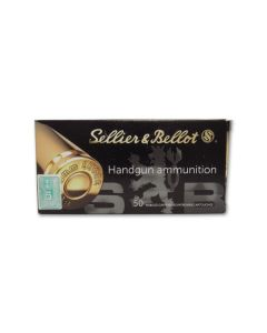 Sellier & Bellot 9mm Luger 150 Grain Full Metal Jacket Subsonic 50 Rounds