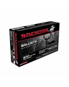 Winchester Ballistic Silvertip 300 WSM 180 Grain Rapid Controlled Expansion Polymer Tip 20 Rounds