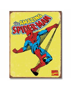 Spiderman - Retro Tin Sign