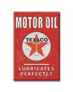 Texaco Motor Oil Tin Sign