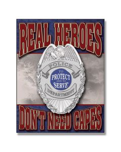 REAL HEROES - POLICE SIGN Model 1780