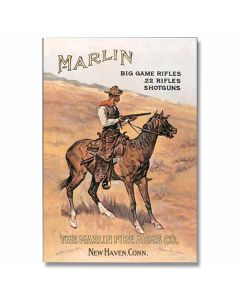 Marlin Firearms Tin Sign