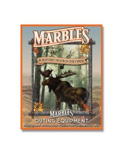 Marbles Safety Axe Tin Sign Model 9164