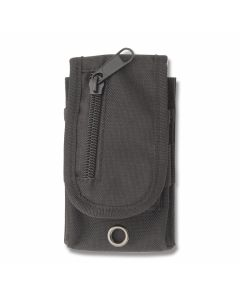 "Black MOLLE Compatible Sheath Holds up to 4"" Closed Pocket Knife Model SH1074"