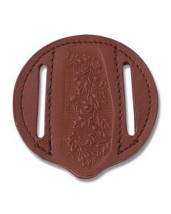 Round Pocket Knife Belt Sheath Model SH1172