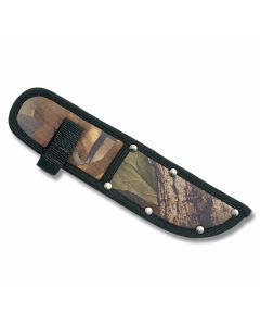 "Camouflage Nylon Sheath fits Straight Knives up to 6"" Blade"