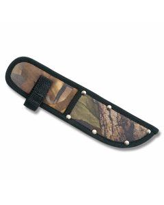 "Camouflage Nylon Sheath fits Straight Knives up to 8"" Blade"