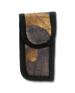 "Camouflage Nylon Sheath fits Folding Knives up to 3"" Closed"