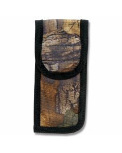 "Camouflage Nylon Sheath fits Folding Knives up to 5"" Closed"