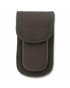 "Black Nylon Belt Sheath fits Folding Knives up to 3"" Closed"