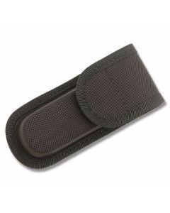 "Black Nylon Belt Sheath fits Folding Knives up to 4"" Closed"
