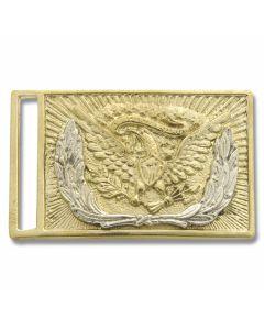 Civil War Replica Eagle Brass Buckle