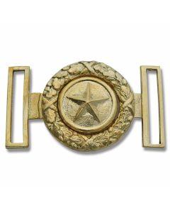 Civil War Replica Star Brass Buckle