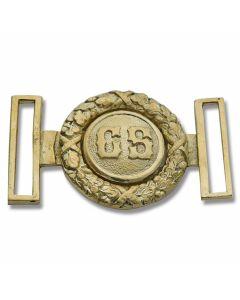 Civil War Replica C.S. Brass Buckle