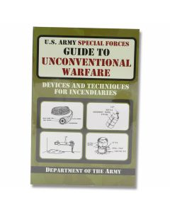 U.S. Army Special Forces Guide to Unconventional Warfare - Soft Cover