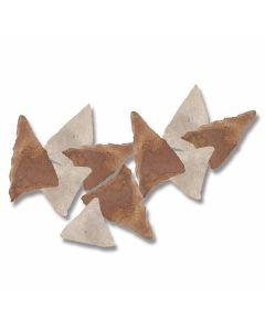 10 Piece Sahara Desert Triangular Points