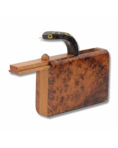 Thuya Wood Snake Surprise Box