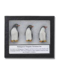 Madagascar Penguins Christmas Set