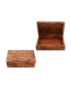 Thuya Wood Rectangle Box