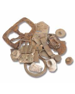 Civil War Bullet Grab Bag - (10) Assorted Battlefield Relics