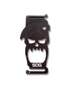 SOG Bite Bottle Opener Black 410 Stainless Steel Model BT1001-CP