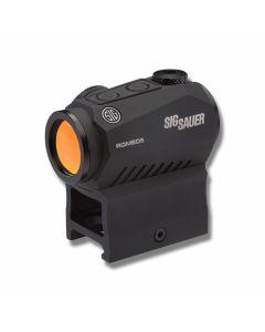 Sig Sauer ROMEO5 Black 1x20mm 2 MOA Red Dot M1913