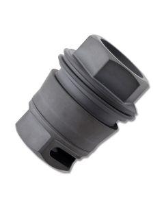 """SIG SAUER SRD762 Taper-Lok Muzzle Brake 5/8"""" x 24 TPI Black Model SRD-762-58X24-B"""