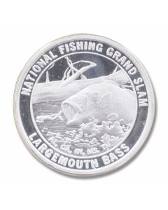 Outdoorsman Large Mouth Bass Collectible Coin