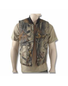 Camo Reversible Hunting Vest - S